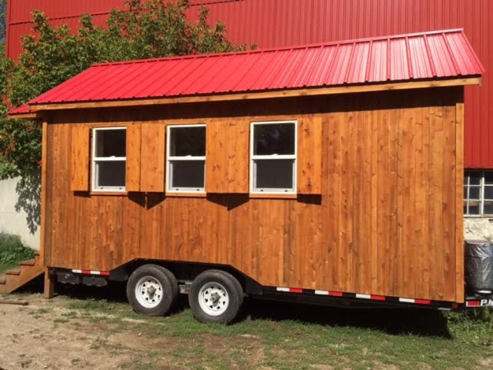 4-Season Custom-Made Tiny Home $55,499
