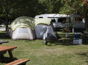 Tent camping too!