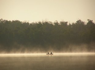 Morning Canoe