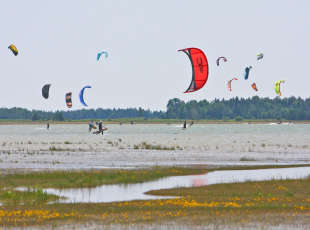 Some of the best Kiteboarding in Canada