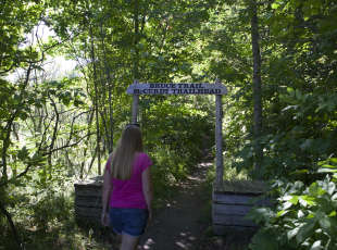 To get into the |Nature Preserve, use the Bruce Trail